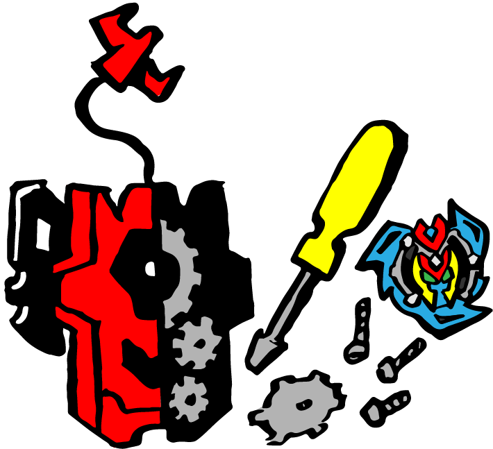 beyblade Launcher Design Icon